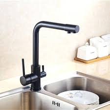 Kitchen Faucets Black Cold Water Filter Faucet Black Kitchen Faucet 3 In 1 Faucet