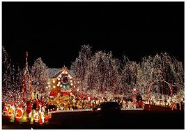 cool christmas cool christmas light displays overwhelming 2