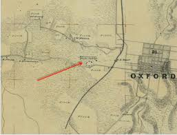 Oxford Ohio Map by University Of Mississippi Slavery Research Group Maps