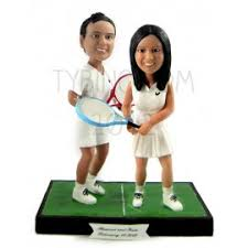 tennis cake toppers custom tennis wedding cake toppers