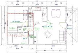 large cabin plans 1 bedroom cabin with loft floor plans wide cottage w loft