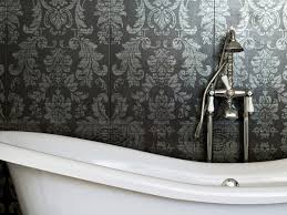 bathroom wallpaper ideas 25 splendid bathroom wallpaper ideas slodive