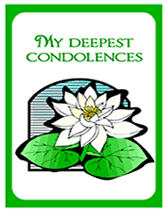 condolences greeting card free printable my deepest condolences sympathy card condolence card