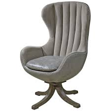 Mid Century Modern Swivel Chair by Davion Industrial Grey Velvet Mid Century Swivel Egg Chair Kathy