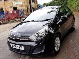 kia rio 2014 black kia rio vr7 1 2 petrol 5 door hatchback 10 000 miles