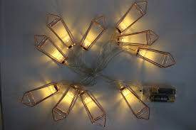 picture frame light battery operated 1 65m 10 led battery operated rose gold waterdrop iron frame
