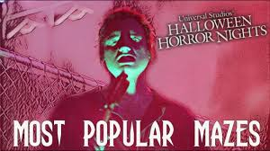 halloween horror nights wait times predicting maze wait times road to hhn 2017 youtube