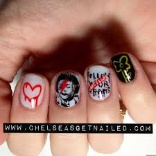 diy nail art banksy street art inspired manicure photo huffpost