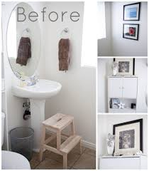 decorating with white walls bathroom mini makeover the r house