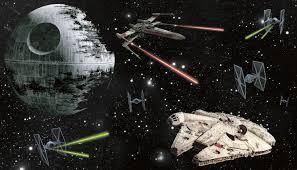 star wars vehicles xl wall mural 10 5 wide x 6 high star wars ships