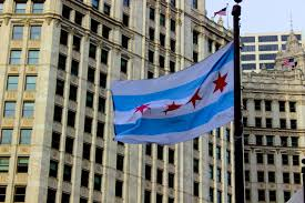 Chicago Flags File Flag Of Chicago Photo Jpg Wikimedia Commons