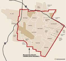 Stl Metrolink Map Map Normandy U0027s 24 Municipalities Law And Order Stltoday Com