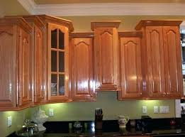 putting crown molding on kitchen cabinets putting crown molding on kitchen cabinets how to install crown