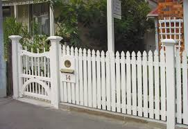 design picket fence gate u2013 outdoor decorations