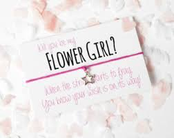 will you be my flower girl gift flower girl gift etsy uk flower girl girl gifts