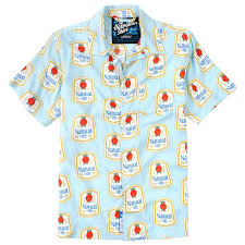 natty light t shirt natty light hawaiian shirt throwback edition just plain cool