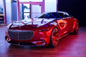 luxury mercedes maybach vision mercedes maybach 6 coupe concept 17