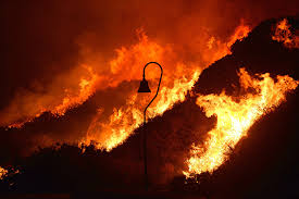 California Wildfires Ventura County by Ventura County Brush Fire Is 70 Contained The Cause Was Arcing