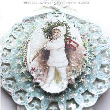 pixie hill chipboard ornaments