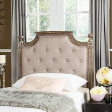 Winged Tufted Headboard by Upholstered Headboards Under 300 That Will Transform Your Bedroom