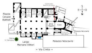 basilica floor plan file pianta della cattedrale di rieti basilica superiore svg