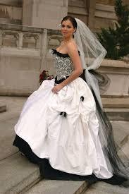 corset wedding dresses black and white wedding dress corset wedding dress one of a