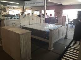 mansion rustic reclaimed wood white series bedroom set cheap financing available