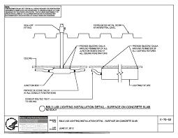 installing lights in ceiling nih standard cad details