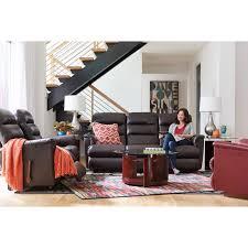 Black La Z Boy Power by Power Recline Xrw Wall Saver Reclining Sofa With Power Tilt