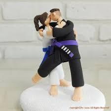 karate cake topper jiu jitsu custom wedding cake topper cake custom wedding