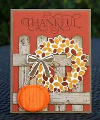 happy thanksgiving turkey card made using starburst technique by