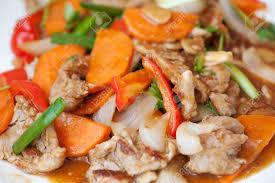 cuisine asiatique boeuf salade chaude aux carottes boeuf et poivre cuisine asiatique