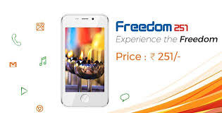 freedom android the freedom 251 is an indian android phone that costs 3 67