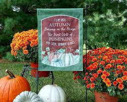 Fall Flags Yard Garden Flags Personalized Home Outdoor Decoration