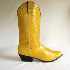 yellow womens cowboy boots boots image