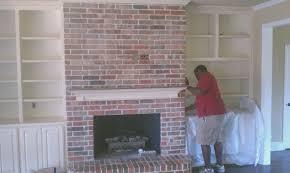 fireplace top hang tv above brick fireplace amazing home design