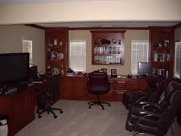 Dual Desk Home Office Photos Of Custom Home Offices