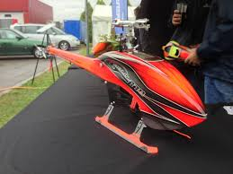 Goblin 700 Canopy by Goblin 770 Flybarless Electric Helicopter Red Grey