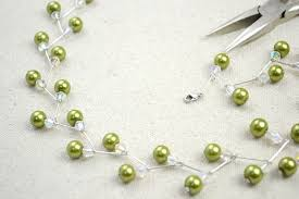 make pearl necklace images Jewelry crafts ideas adorable pearl necklace earring set how to jpg