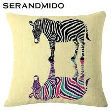 animal print pillow pillows animal print pillows amazon zebra