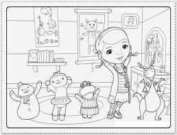 coloring sheets doc mcstuffins