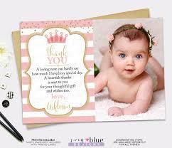 printable thank you cards princess princess thank you card pink gold princess birthday thank you card