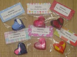 crayon valentines a s year heart crayon valentines