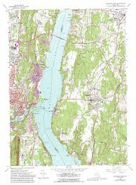 East New York Map by Kingston East Topographic Map Ny Usgs Topo Quad 41073h8