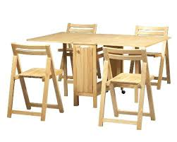 folding table with storage folding table with chair storage space saver set table kitchen