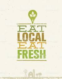 from farm to table local food market from farm to table creative organic vector concept