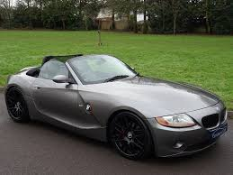 2005 bmw z4 3 0 i se roadster 2dr m sport full black heated