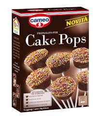 per cake cake pops cameo deliziosi dolcetti su bastoncini per festeggiare in