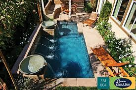 Pools For Small Backyards by Small Pools Spools Premier Pools U0026 Spas