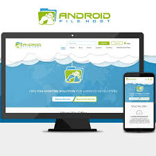 android file host android file host site redesign web page design contest